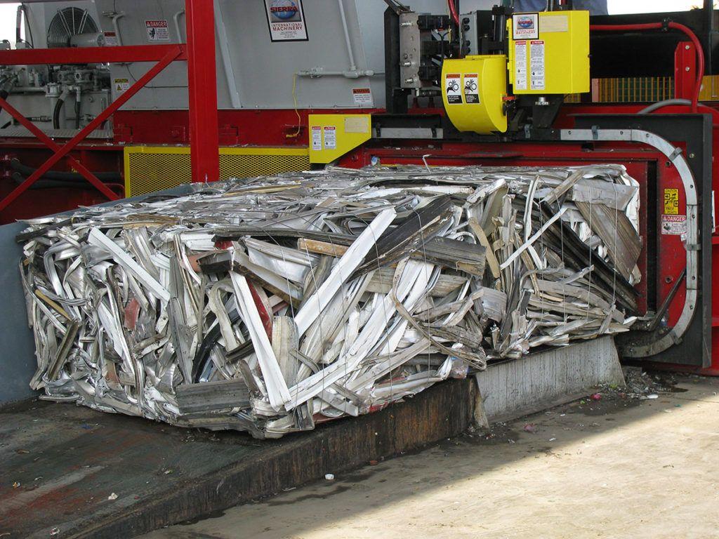 Sierra | Reb-1 Non-Ferrous Scrap Two Ram Baler | Sierra ...
