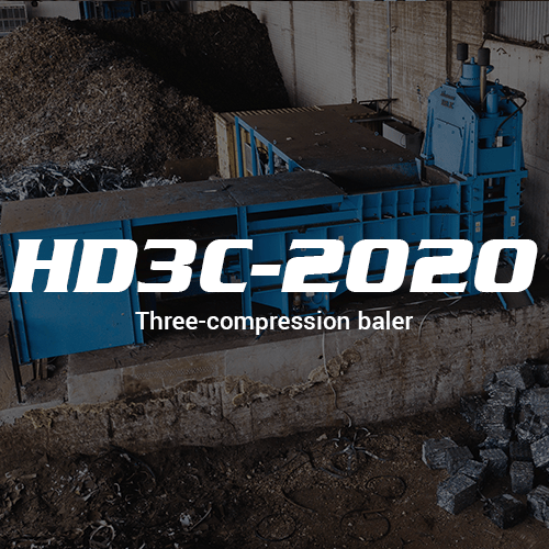 Ferrous Scrap Metal HD3C 2020 Three-compression baler